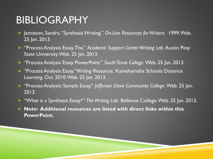 bibliographic essays A bibliography, on the other hand, consists of everything cited in the paper and also all of the material used to prepare to create the paper what is an annotated bibliography an annotated bibliography is, for all intents and purposes, identical to a standard bibliography with one distinct difference – the information noted is followed by a short description.