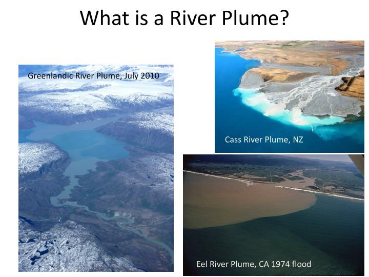 What is a River Plume?