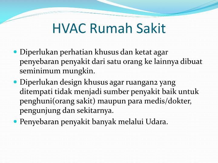 HVAC Rumah Sakit