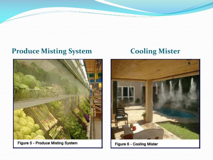 Produce Misting System