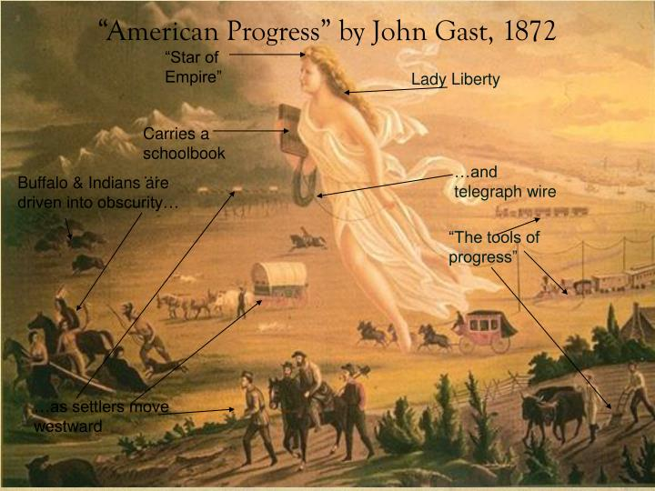 American progress by john gast 1872