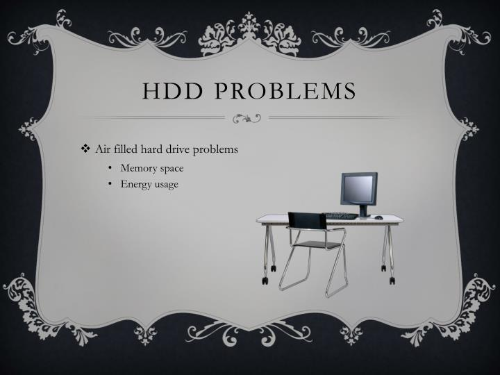 Hdd problems