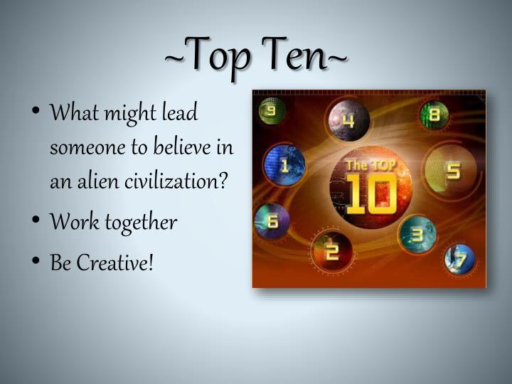 ~Top Ten~