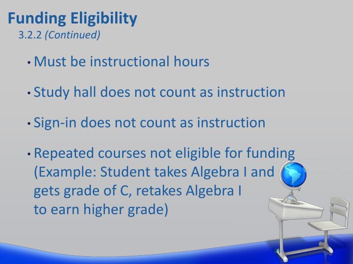 Funding Eligibility