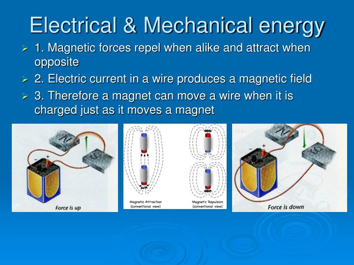 Electrical mechanical energy