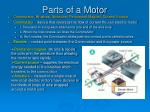 parts of a motor
