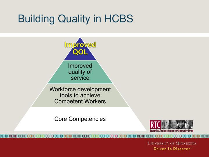 Building Quality in HCBS