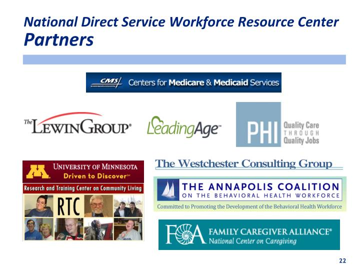National Direct Service Workforce