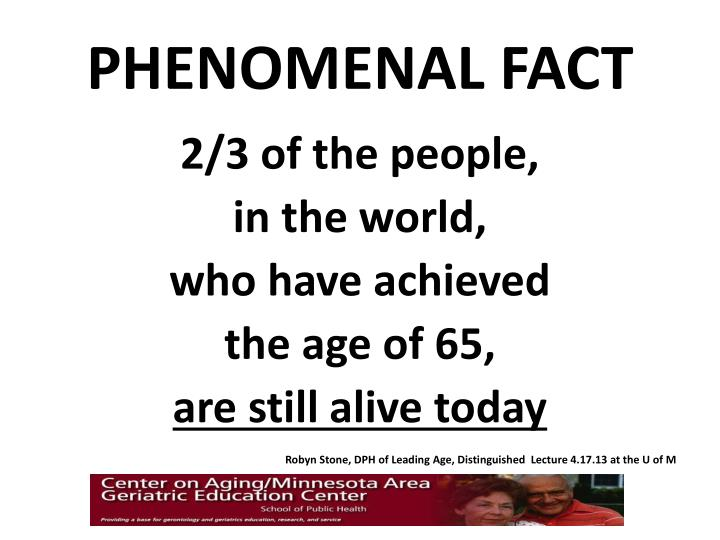 Phenomenal fact