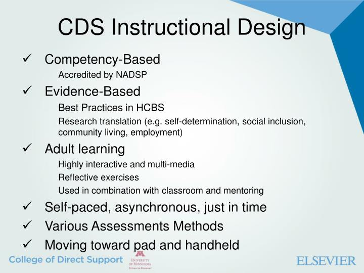 CDS Instructional Design