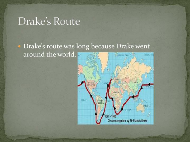 Drake's Route