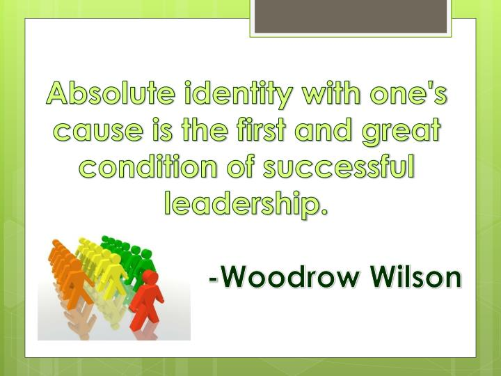 Absolute identity