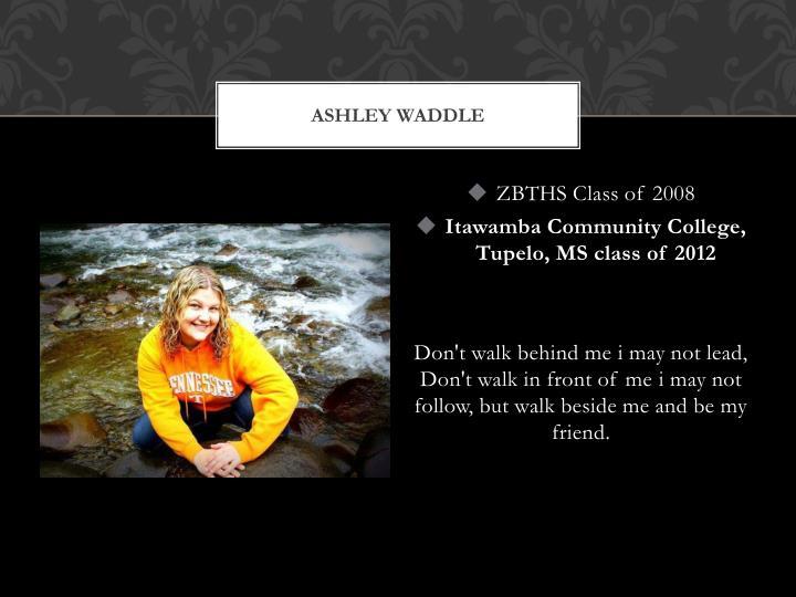 Ashley waddle
