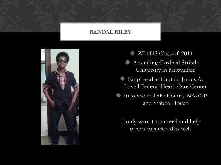 Randal riley