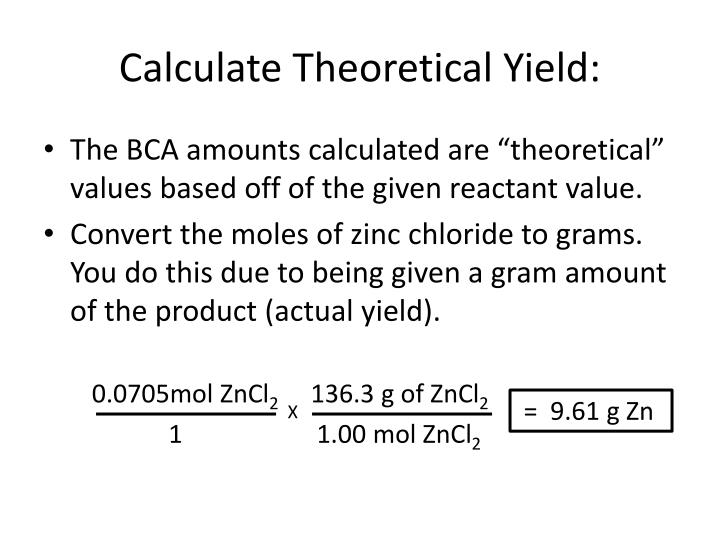 PPT Unit 8 Percent Yield Calculations PowerPoint Presentation – Percent Actual and Theoretical Yield Worksheet