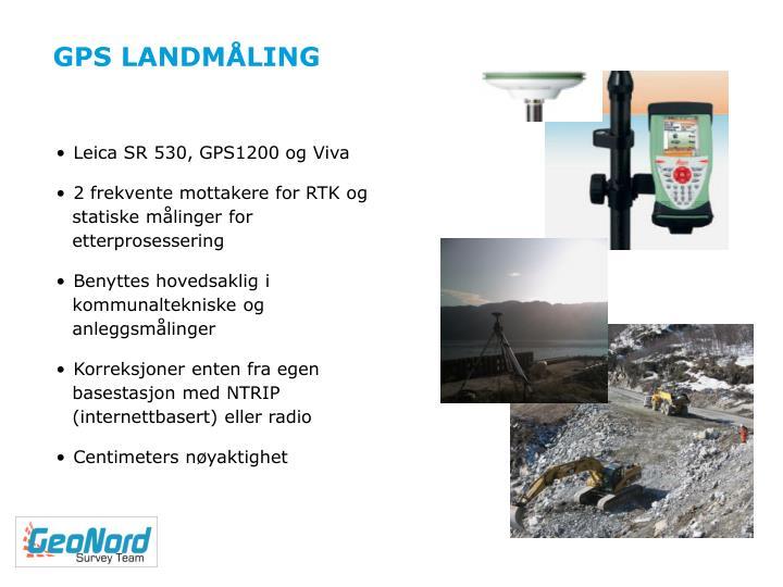GPS LANDMÅLING