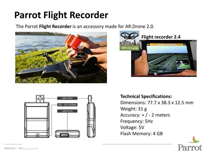 Parrot Flight Recorder