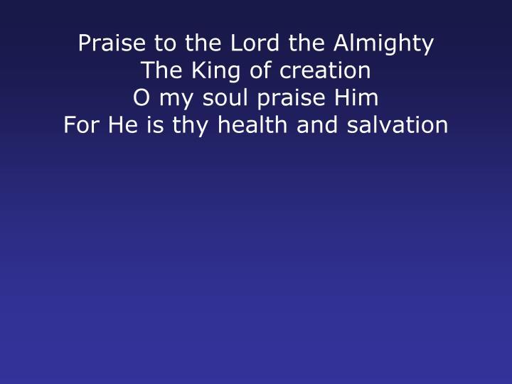 Praise to the