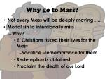 why go to mass