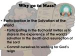 why go to mass1