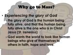 why go to mass2