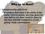 why go to mass6