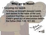 why go to mass7
