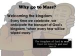 why go to mass8