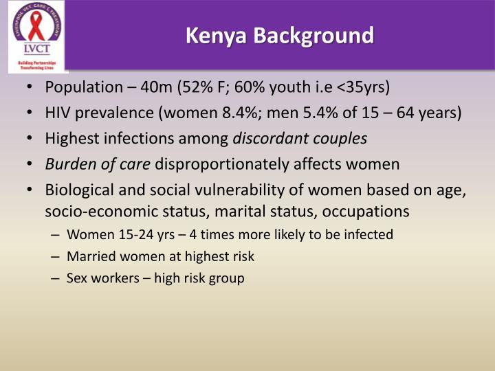 Kenya Background