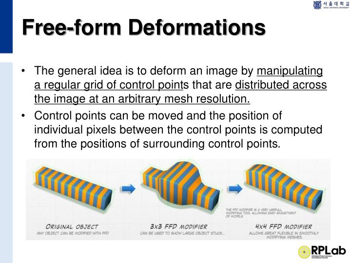 Free-form Deformations