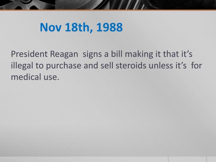 Nov 18th, 1988