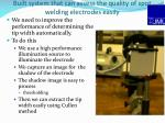 built system that can assess the quality of spot welding electrodes easily