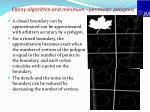 canny algorithm and minimum perimeter polygons
