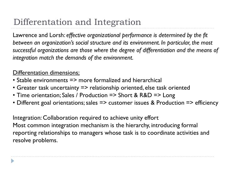 Differentation and Integration