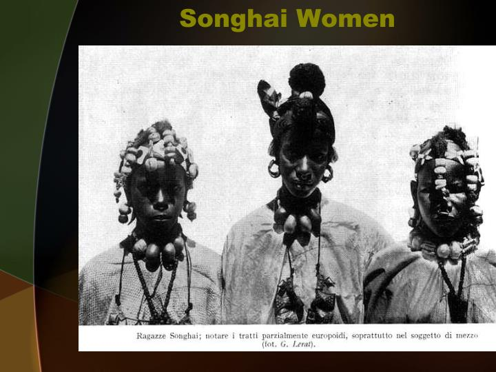 Songhai Women