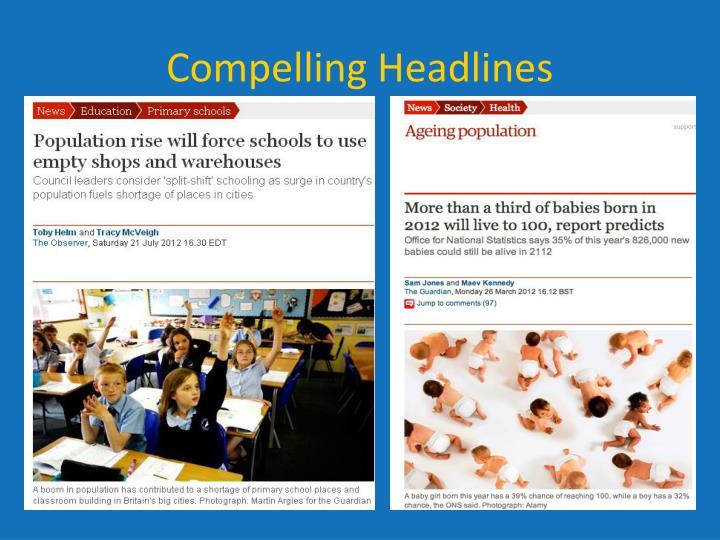 Compelling Headlines