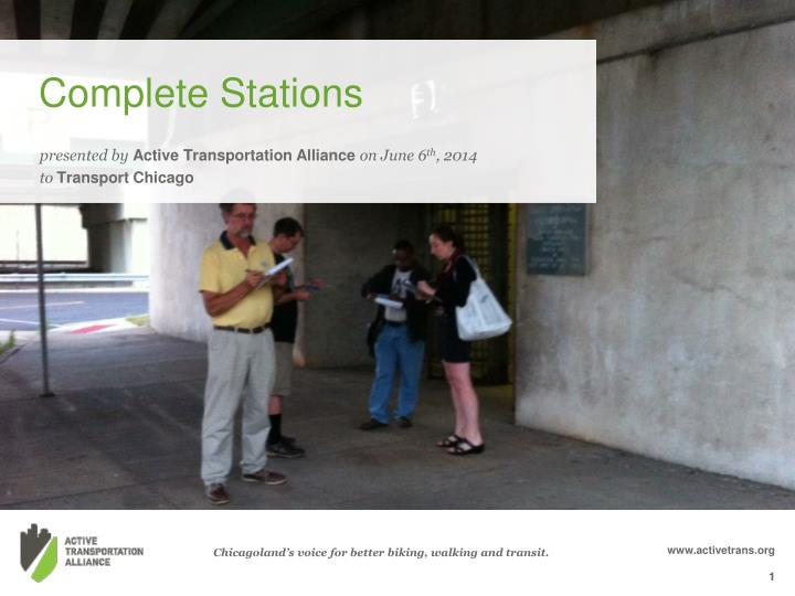 Complete stations