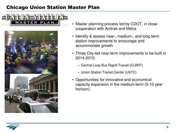 Chicago Union Station Master Plan