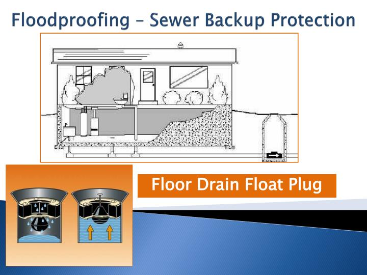 Floodproofing – Sewer Backup Protection