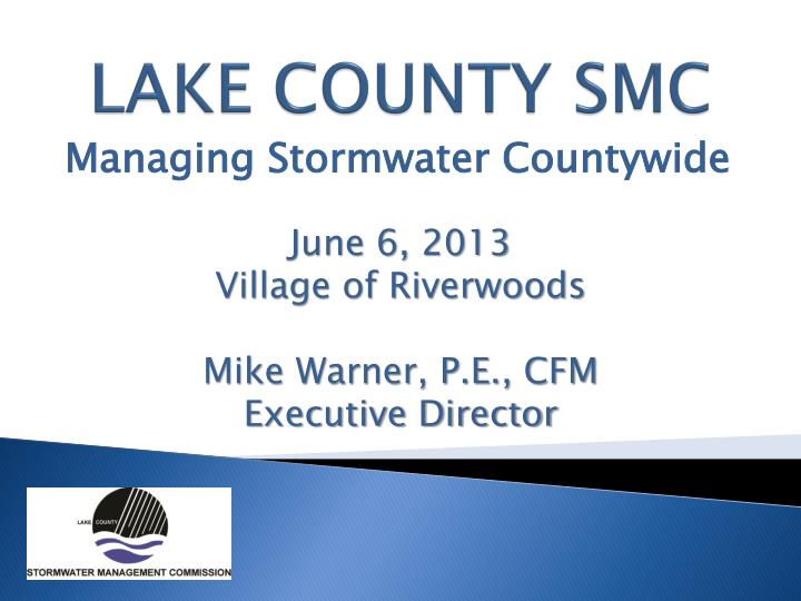 Lake county smc