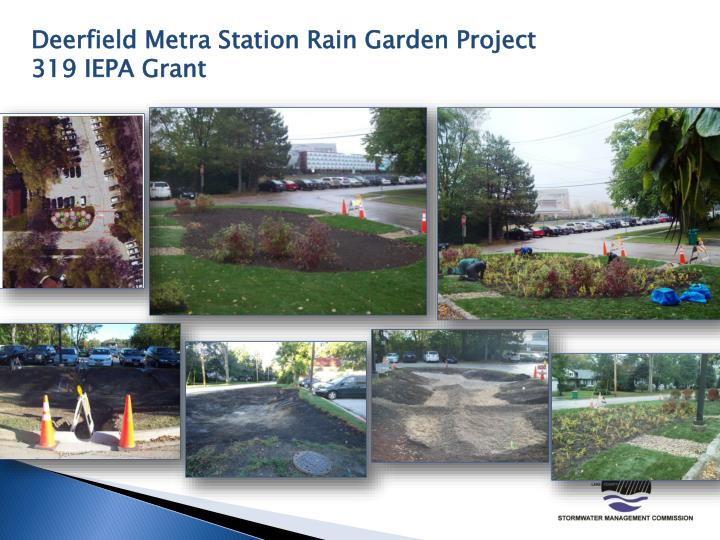 Deerfield Metra Station Rain Garden Project