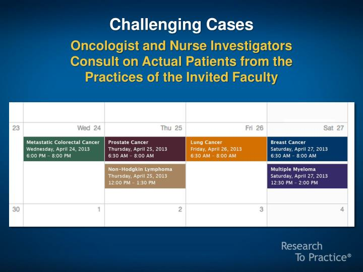 Challenging Cases