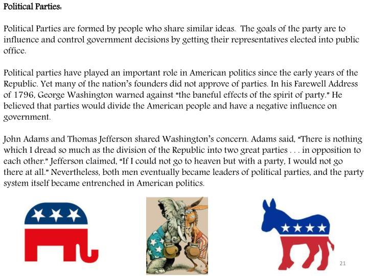 Political Parties: