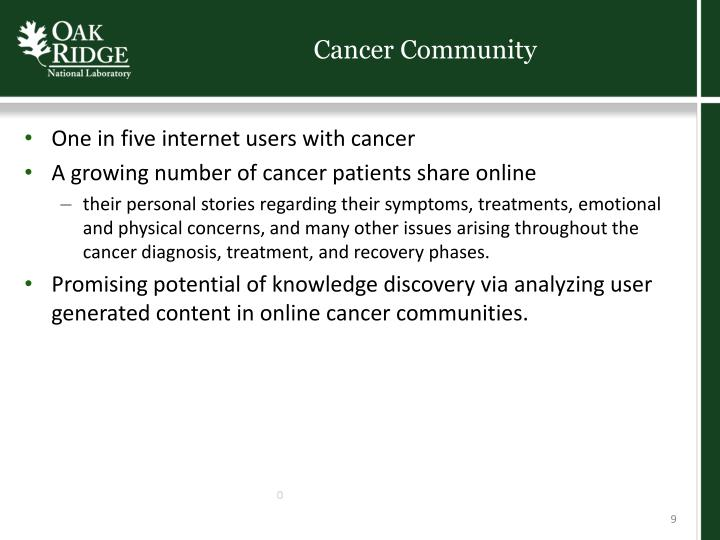 Cancer Community