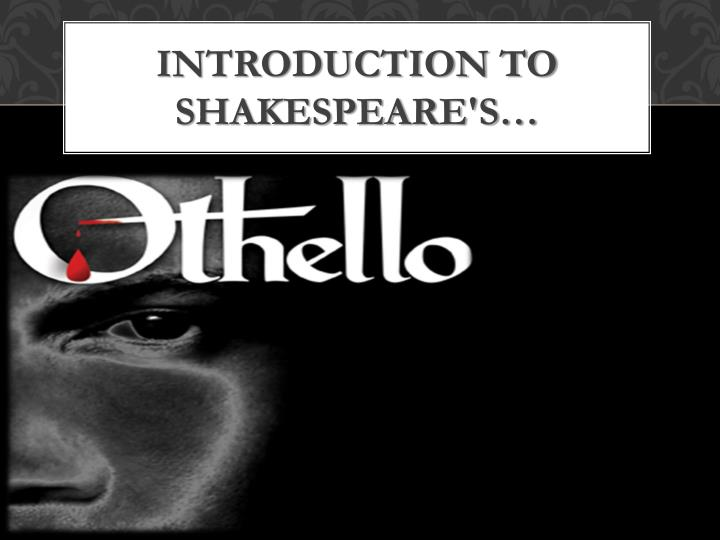 barthelemy anthony g. introduction critical essays on shakespeare's othello Critical essays on shakespeare's othello edited by anthony gerard barthelemy gk hall , maxwell macmillan canada , maxwell macmillan international c1994 critical essays on british literature.