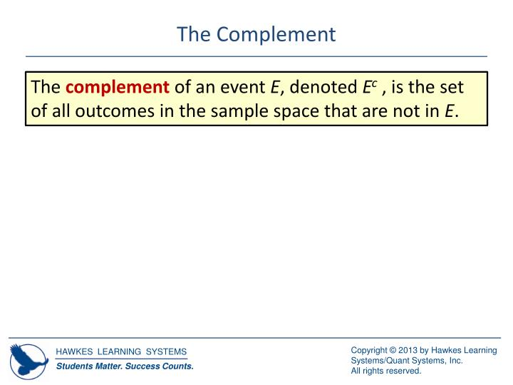 The Complement
