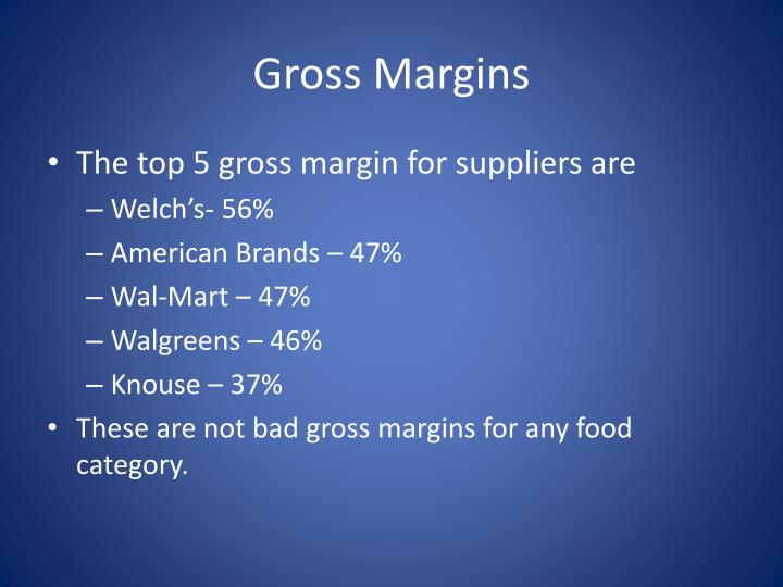 Gross Margins