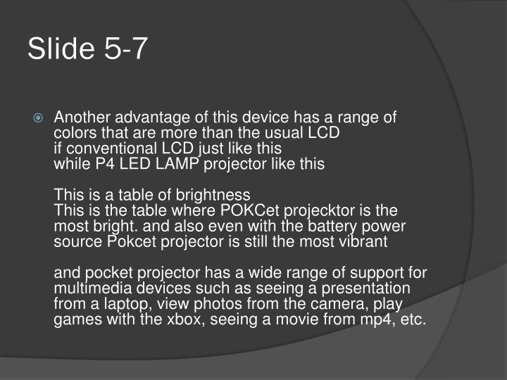 Slide 5-7