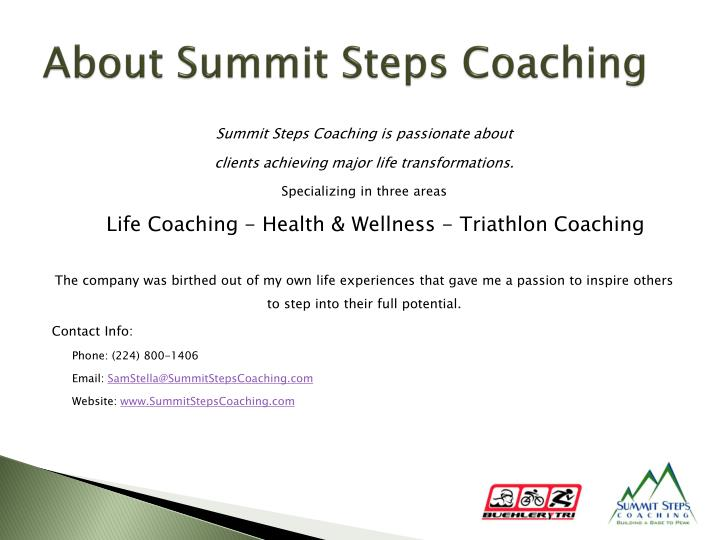 About Summit Steps Coaching