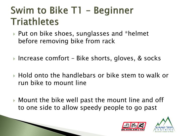 Swim to Bike T1 – Beginner Triathletes